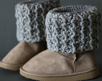 Crochet PATTERN Woodland Boot Cuff Crochet Boot Cuff Pattern also includes free pattern for cup cozy