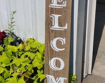 Welcome Front Door Sign