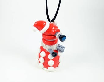 Holiday Dalek Ornament - Doctor Who Ornament - Christmas Ornament - Keepsake Ornament