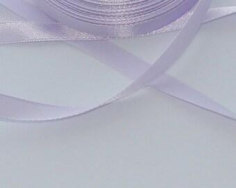 3 m width 9.8 mm Lavender satin ribbon