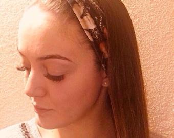 Velvet, Hair turban Headband