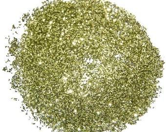 Lime Gold Glitter, Gold Glitter, Solvent Resistant, Glitter, 0.015 Hex, Glitter Nail Art, Glitter Nail Polish, Glitter Crafts, Lime Glitter