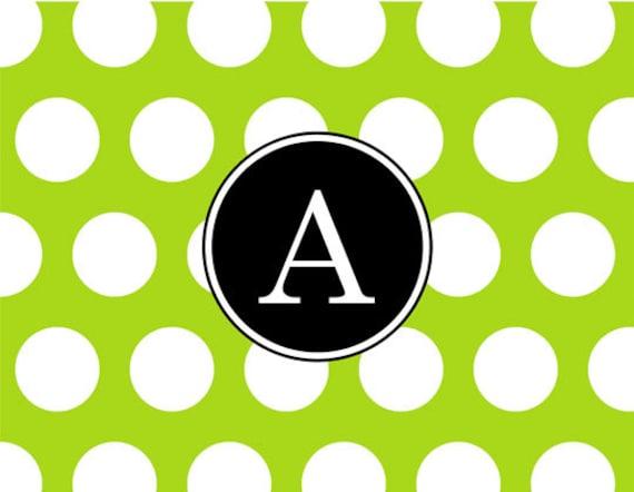 Item #40094 Lime Dot, fun, fresh, fabulous.