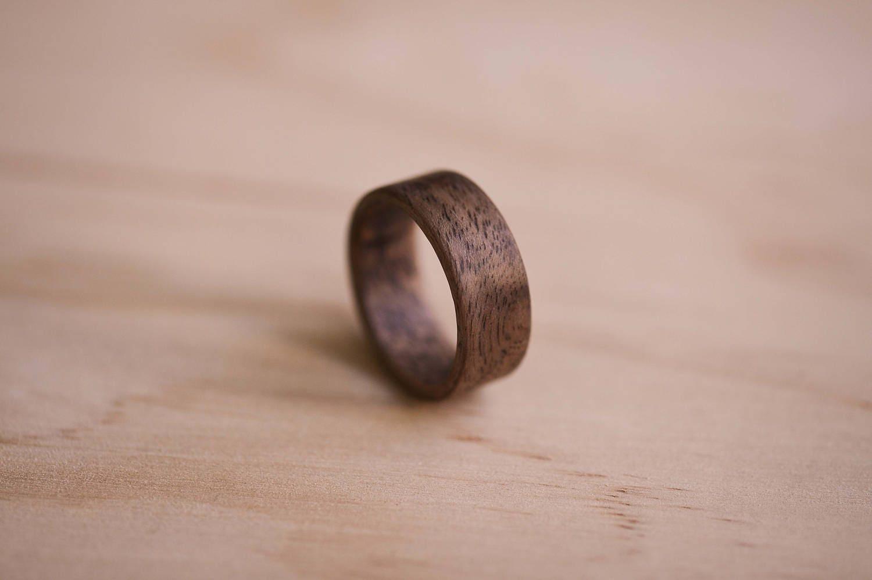 Claro Walnut Bentwood Ring