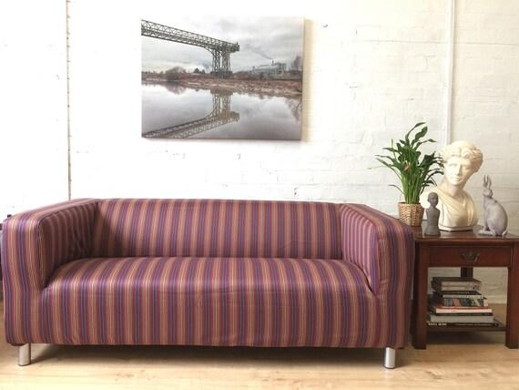 Ikea Ufficio Stampa : Sale ikea klippan sofa cover in beautiful 100% wool fabric