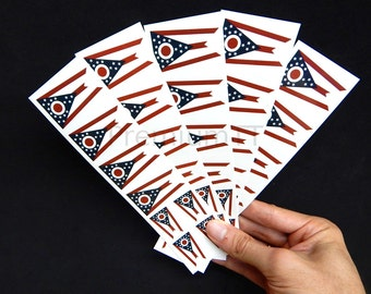 40 Tattoos: Ohio State Flag, Party Favors