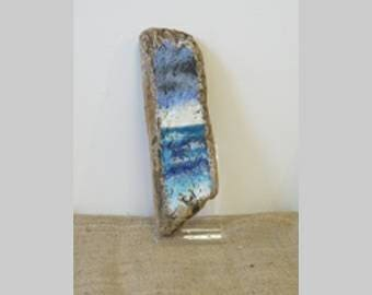 Seascape Painted Driftwood