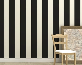 Stripes Wall Decal, Stripes Stickers, Office Wall Stripes, Nursery Stripes Decal, Removable Wall Decals, Living Room Wall Decor, ID656
