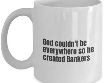 Banker funny mug, Banker funny mug, Banker, gift idea