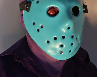 8-bit NES Jason Voorhees Bust, Friday the 13th + GLOW Hockey mask