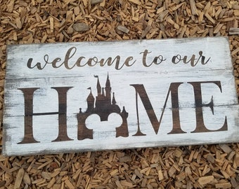Welcome to our home Disney