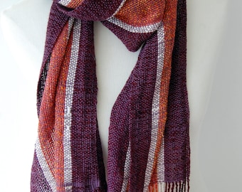 Multicolour #1 Handwoven scarf/shawl