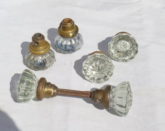 style door plate knob regency fluted antique doors glass brass victorian