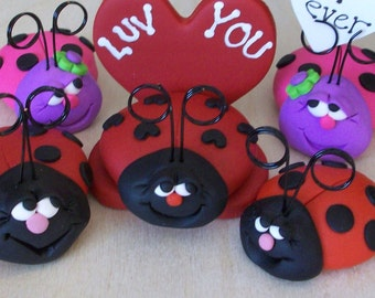 How to Make a Polymer Clay Ladybug: PDF Tutorial
