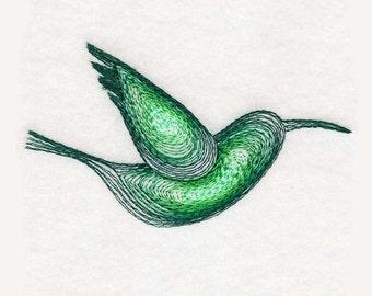 Hummingbird Tea Towel | Bird Kitchen Towel | Personalized Kitchen | Embroidered Kitchen Towel | Embroidered Towel | Embroidered Tea Towel