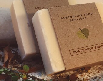 2 x Handmade Goats Milk Soap