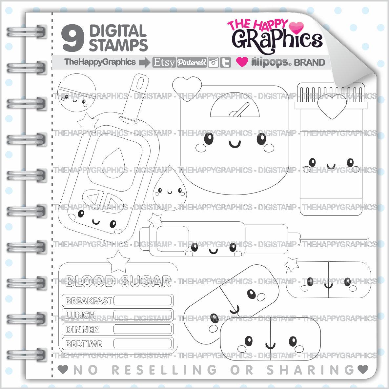 Diabetes Stamps 80OFF Commercial Use Digi Stamp Digital
