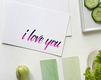 i love you card | i love you | love card | love greeting card | anniversary card