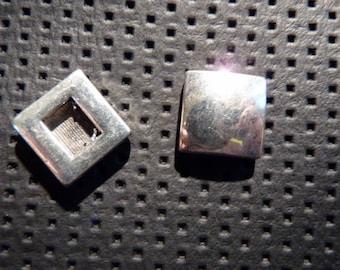Buckle in silver for bracelet or belt