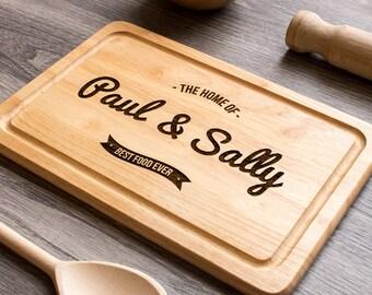 Custom Cutting Board, Personalised Chopping Board, Personalised Cutting Board, Foodie Gift for her, Custom Chopping Board, Housewarming Gift