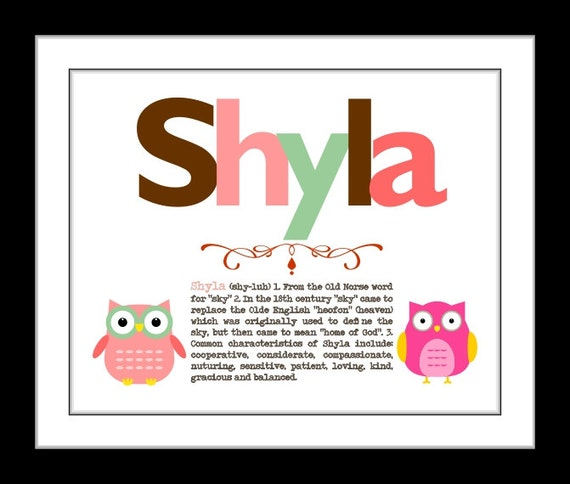 Personalized baby gift baby girl nursery decor baby girl like this item negle Gallery