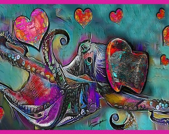 SteamPunk OCTOPUS for Valentine's Day
