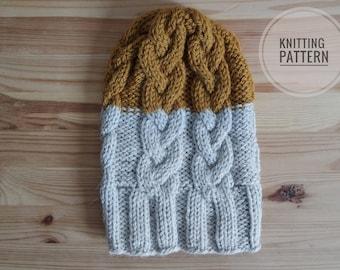 The Braid Beanie - Knitting Pattern