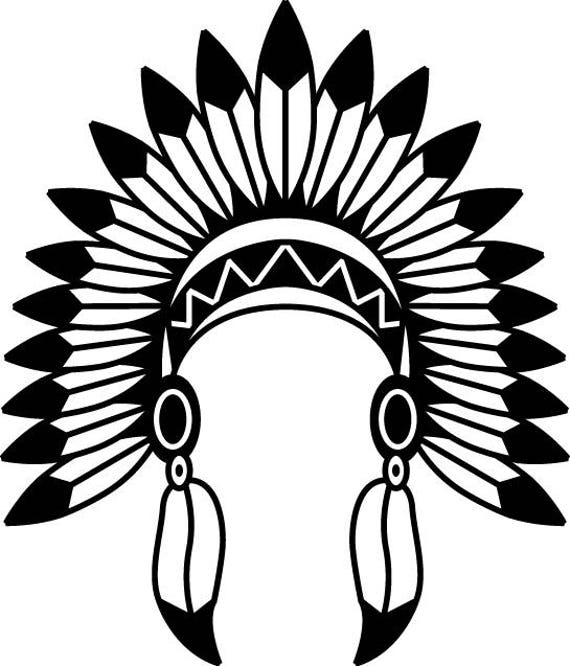 indian headdress svg indian headdress vector indian headdress rh etsystudio com indian headdress clipart black and white Skull Indian Headdress Clip Art