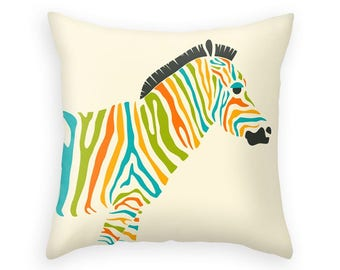 ZEBRA (Throw Pillow for the Home Décor)