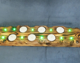 LED Lights - Tea Lights - Candle Lighting - Fairy Lights - Lighting - Party Lights - Art and Collectables - Housewarming Gift - Rustic