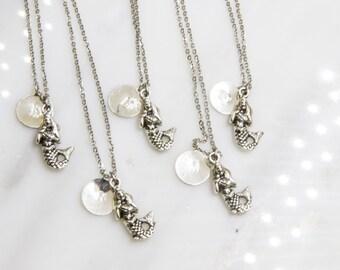 Disney Jewelry, The Little Mermaid,  Disney necklace, Disney jewelry, Personallized Mermaid Necklace, Disney Necklace