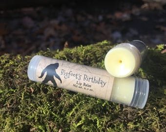 Bigfoot's Birthday Lip Balm