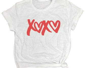 XOXO Shirt - Hugs and Kisses - In Love Gift - Gift for Wife - Unisex Tee - Cute Summer Shirts