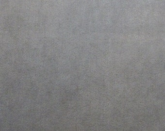 Ultrasuede Fabric_Silver Pearl Gray_8.5x8.5 square_Bead Embroidery_Microsuede