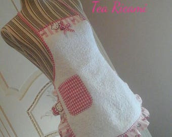 Terry Apron for baby size 4-8 years