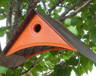 BIRD HOUSE for OUTDOORS | Unique Birdhouses | Modern Bird house