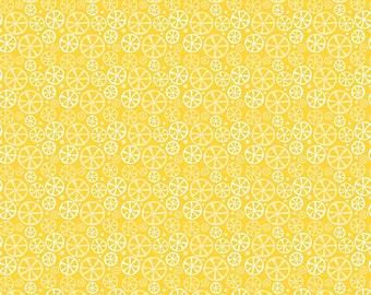 Fresh Market Slice Yellow by Riley Blake Designs Fresh Fruit Lemons