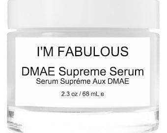 DMAE Supreme Serum Organic And Vegan