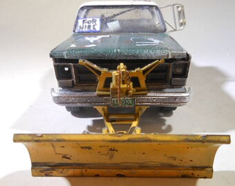 ScaleModel Truck,GMCTruck,SnowPlow,BarnFind,JunkerModel,124Scale