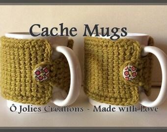 Mug Cover Pdf Pattern Crochet