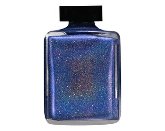 Patriot Navy Blue Holographic Nail Lacquer