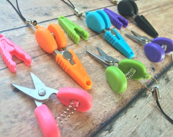 Scissors - yarn snips for knitting, crochet, & embroidery!
