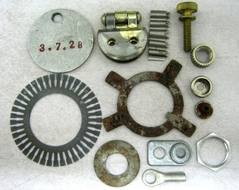 13 Industrial Steampunk Findings