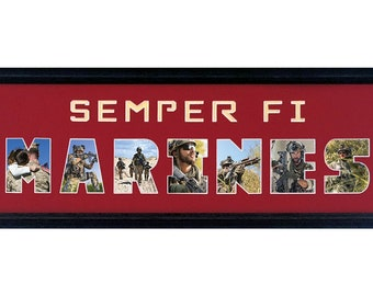 Semper Fi Marines Custom Photo (mat only)