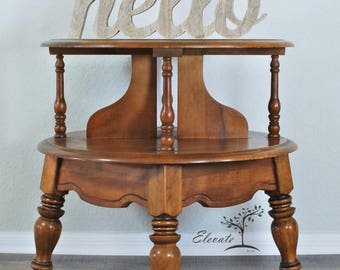 Available for Custom Finish/ Side Table/ Accent Table