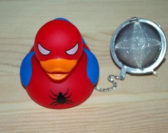 spiderman duck tea ball