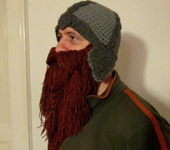 Beard Hat Pattern Viking Hat Lord Of The Ring Hat Hobbit
