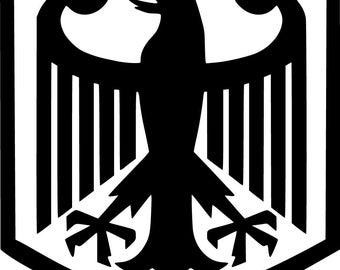 German black eagle | Etsy