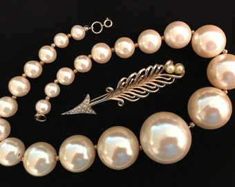 I Believe One of the Pieces Has Real Pearls. Guess Which One