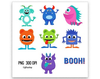 Cute Monsters Clip Art Images Monster Clipart